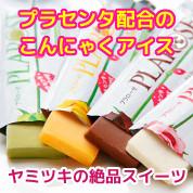 プラセンタ配合のこんにゃくアイス プラローゼ 【PLAROSE】